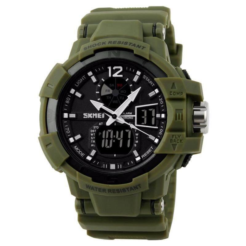 SKMEI 1040 Men Man Outdoor Sports Digial Watch(Green) Malaysia
