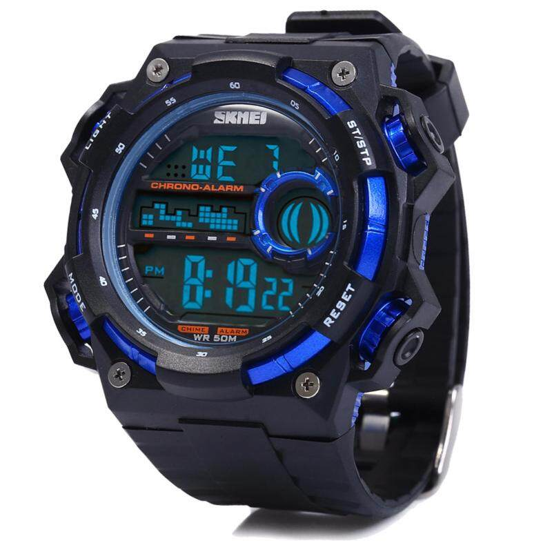 SKMEI 1115 Outdoor Sport Men Man Adult Watch(Blue) Malaysia