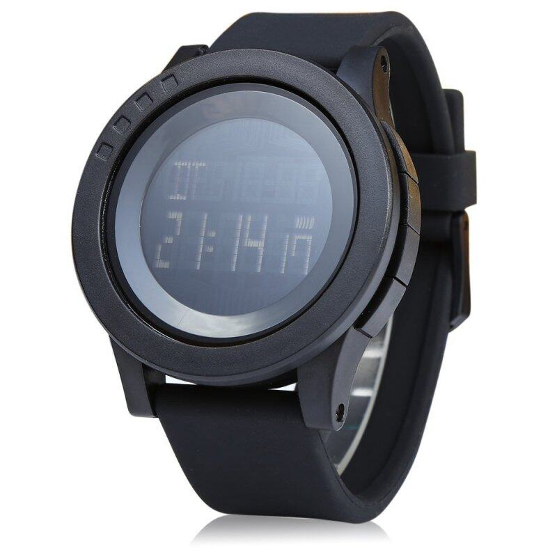 Skmei 1142 Men Sport LED Digital Watch Water Resistance BLACK Malaysia