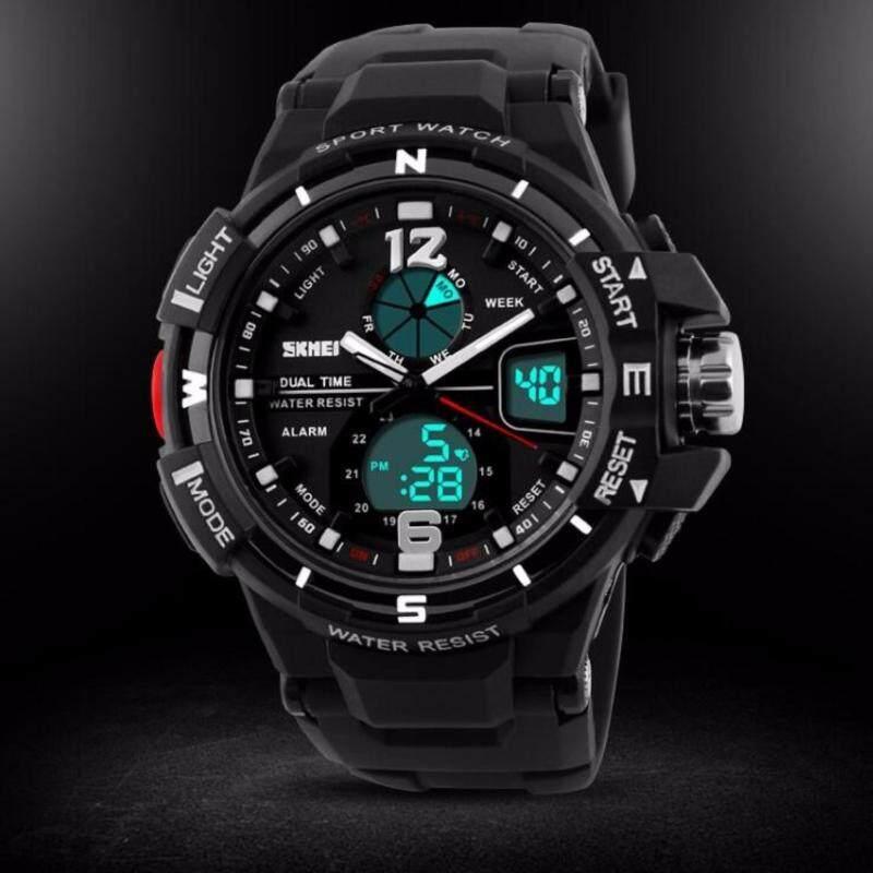 SKMEI AD1148 Men Outdoor Fashion Sport Digital Watch(Black) Malaysia