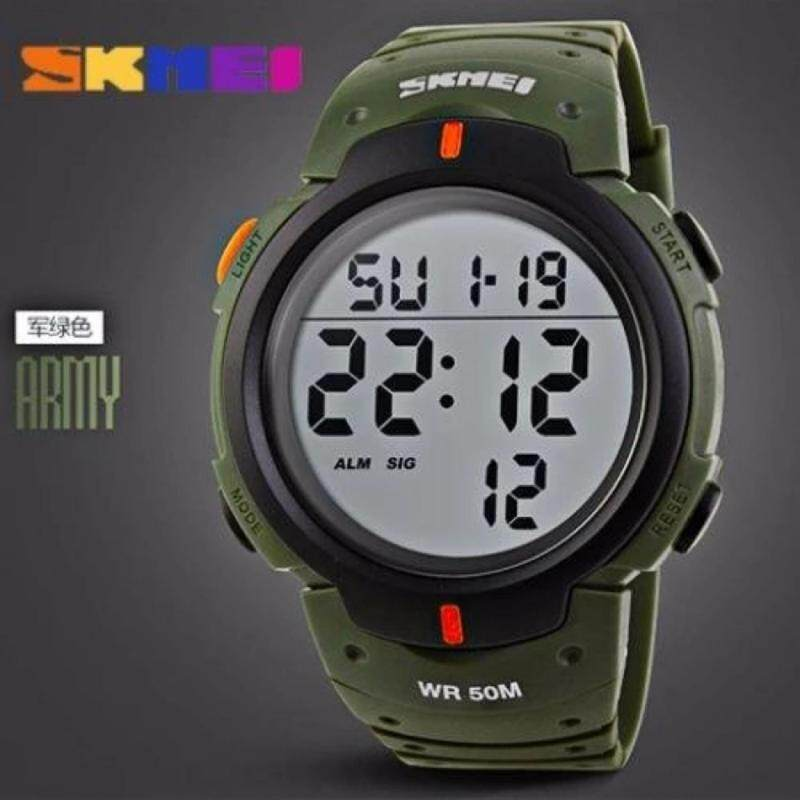 SKMEI Outdoor Pioneer Sports Digital Black Strap Watch Malaysia