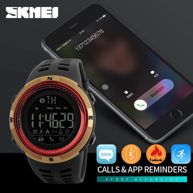 SKMEI Watch 1250 Mens Sport Watch Chrono Calories Pedometer Multi-Functions Sports Watches Reminder Digital Wristwatches Relogios Malaysia