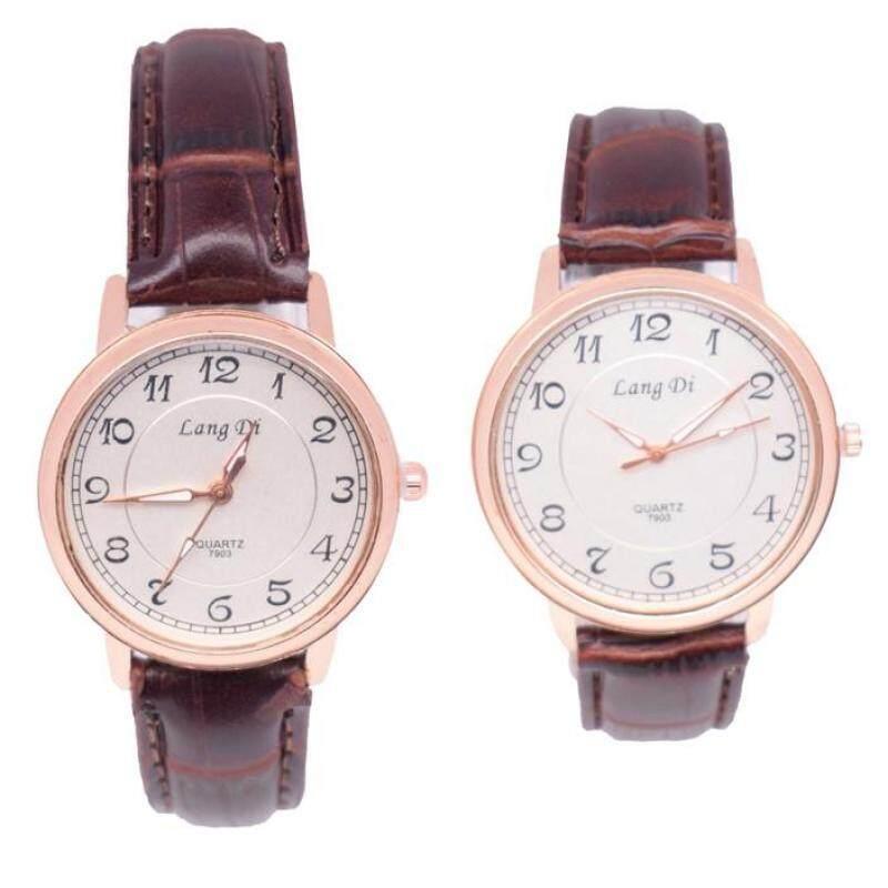 Smart Casual Classic Couple Set Watch 2pcs (LD7903LRG5A-0708) Malaysia