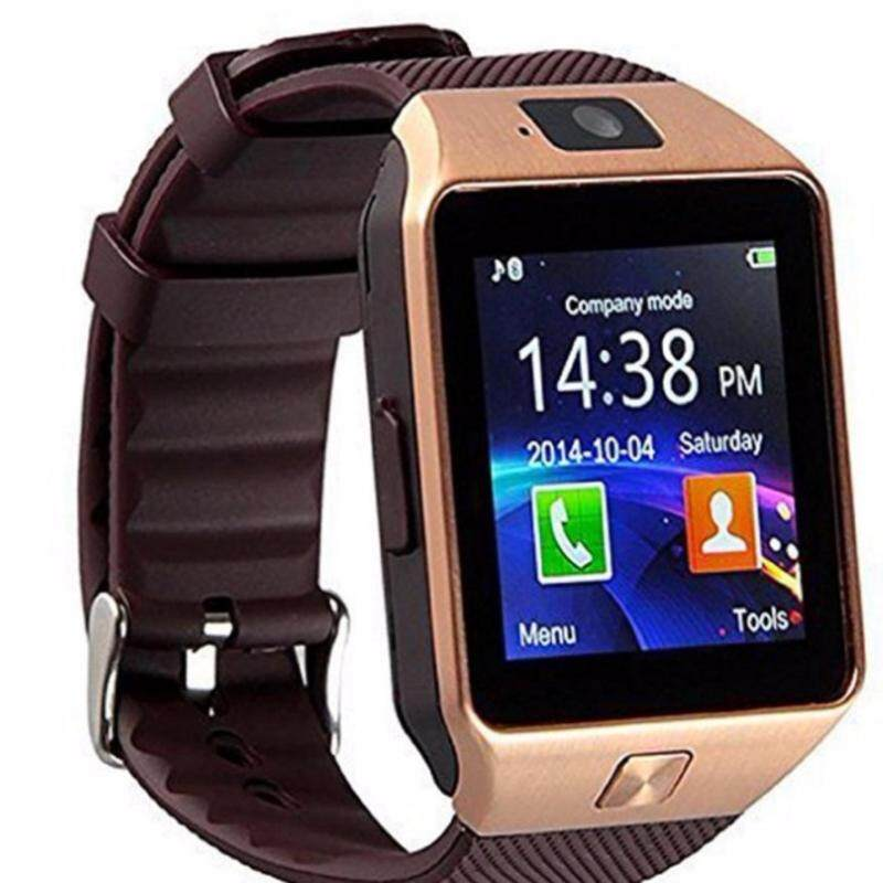 Smart watch card phone Bluetooth call DZ09 fashion support multi language Malaysia