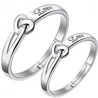 SOKANO Couple Ring CR001 With Adjustable Ring Size (Free Gift Box)