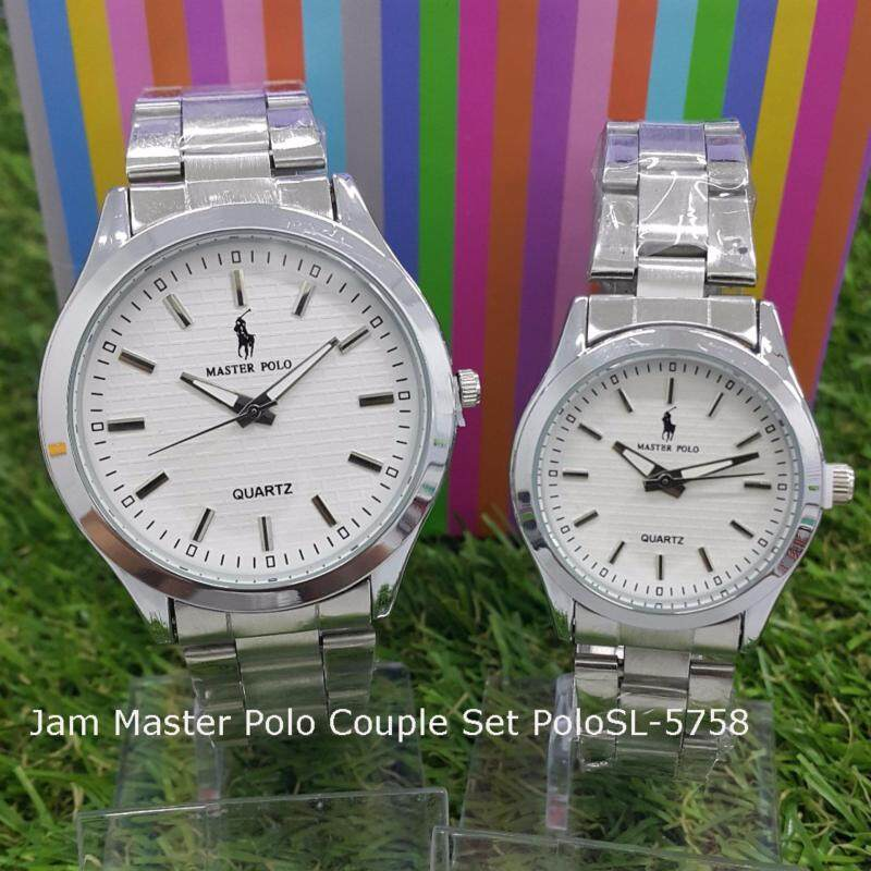 Stainless Steel Couple Watch GE POLOSL-5758 Malaysia