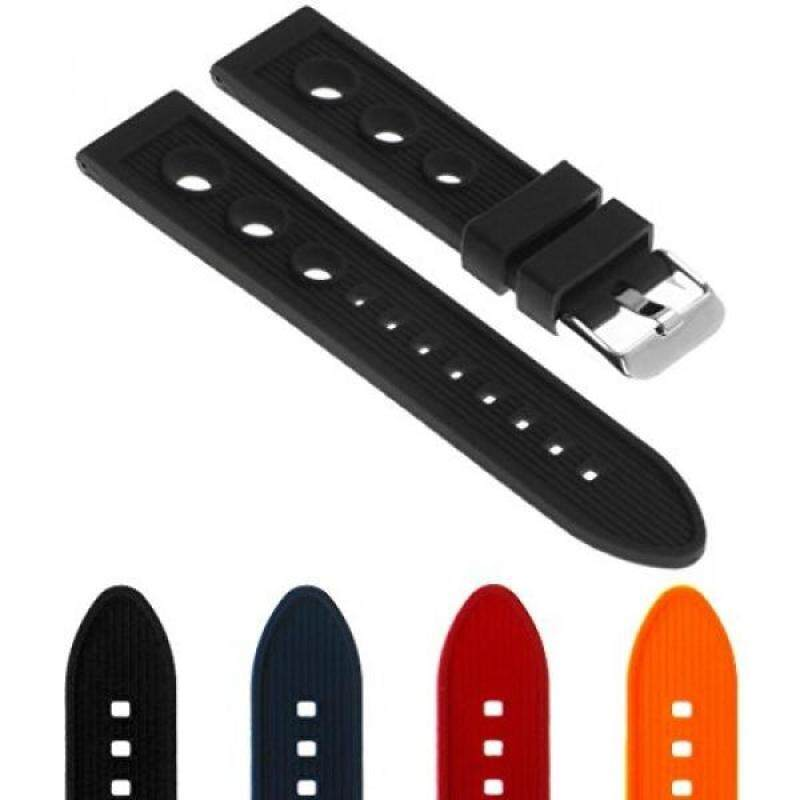 StrapsCo Silicone Rubber Rally Watch Band Strap for Breitling Superocean Malaysia