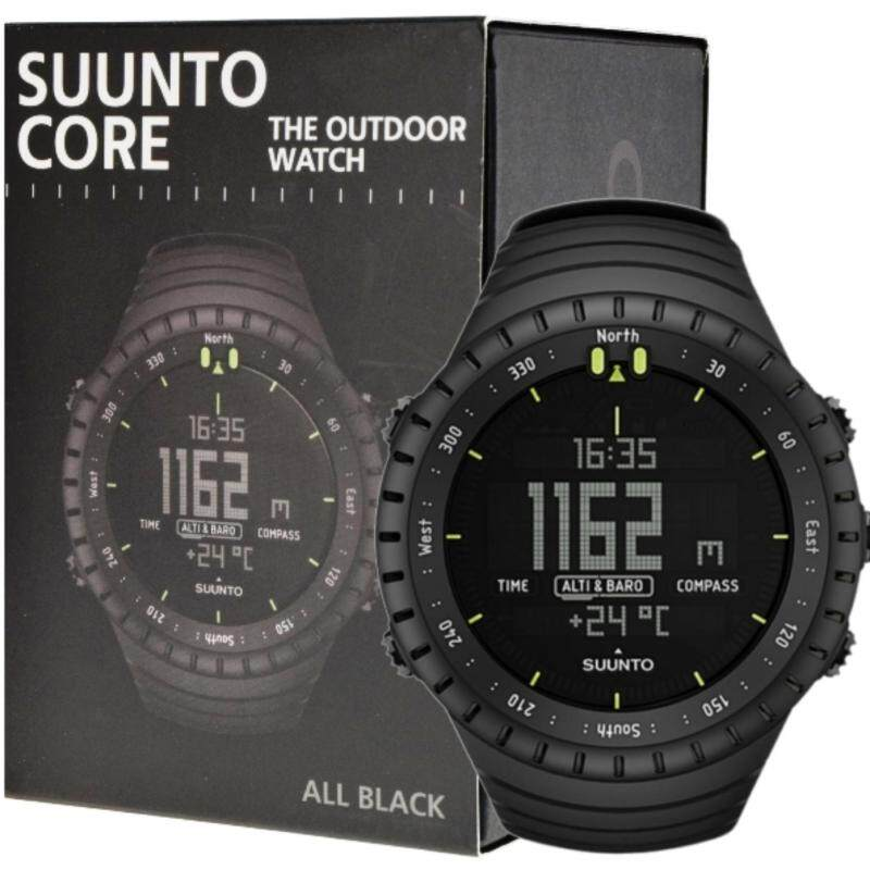 Suunto Core All Black Outdoor Watch with Altimeter Baromete Compass SS014279010 Malaysia