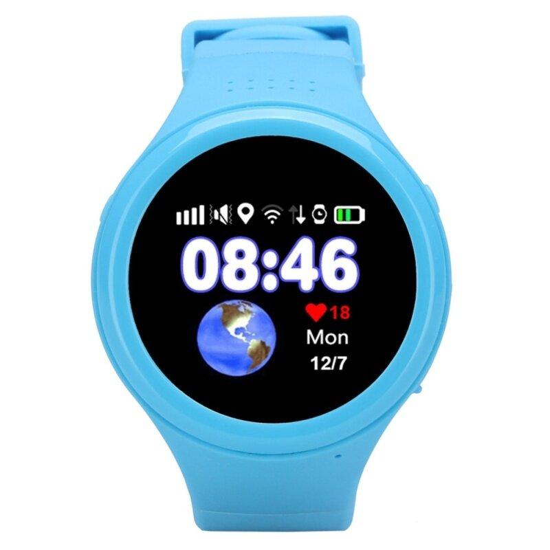 T88 1.22 INCH SMARTWATCH PHONE MTK2503 SOS WIFI GPS PEDOMETER IPS SCREEN (BLUE) 4.00 x 4.00 x 1.40 cm Malaysia