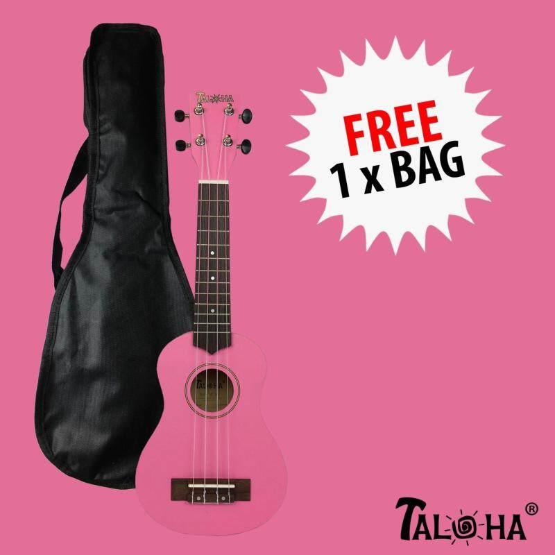 Taloha Soprano Ukulele (Hot Pink) + Free Bag Malaysia