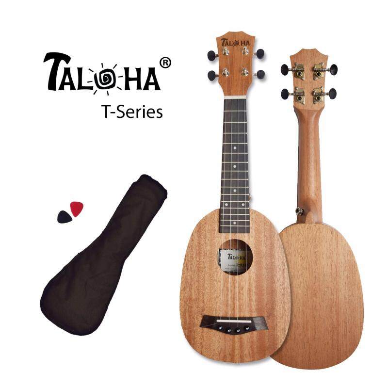 TALOHA T-Series T-01SP Soprano 21-inch Ukulele (African Mahogany & Rosewood) + Free Bag & Picks Malaysia