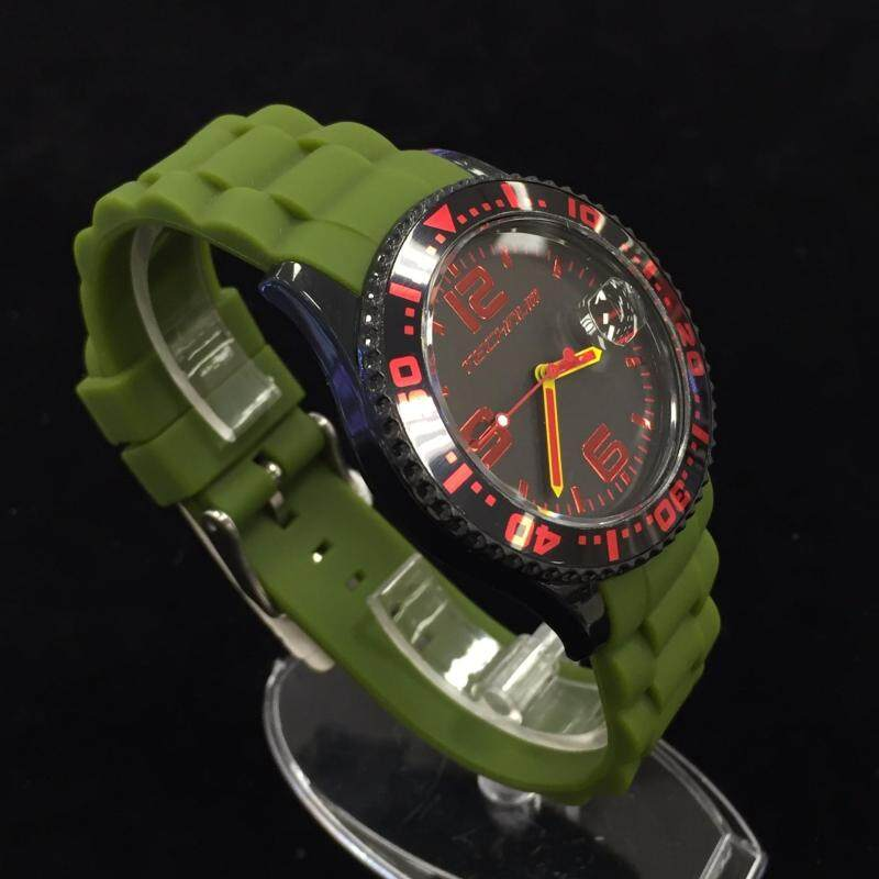 TECHNUM EX3.170.GRNBLK Green Fashion Quartz Analog Casual Malaysia