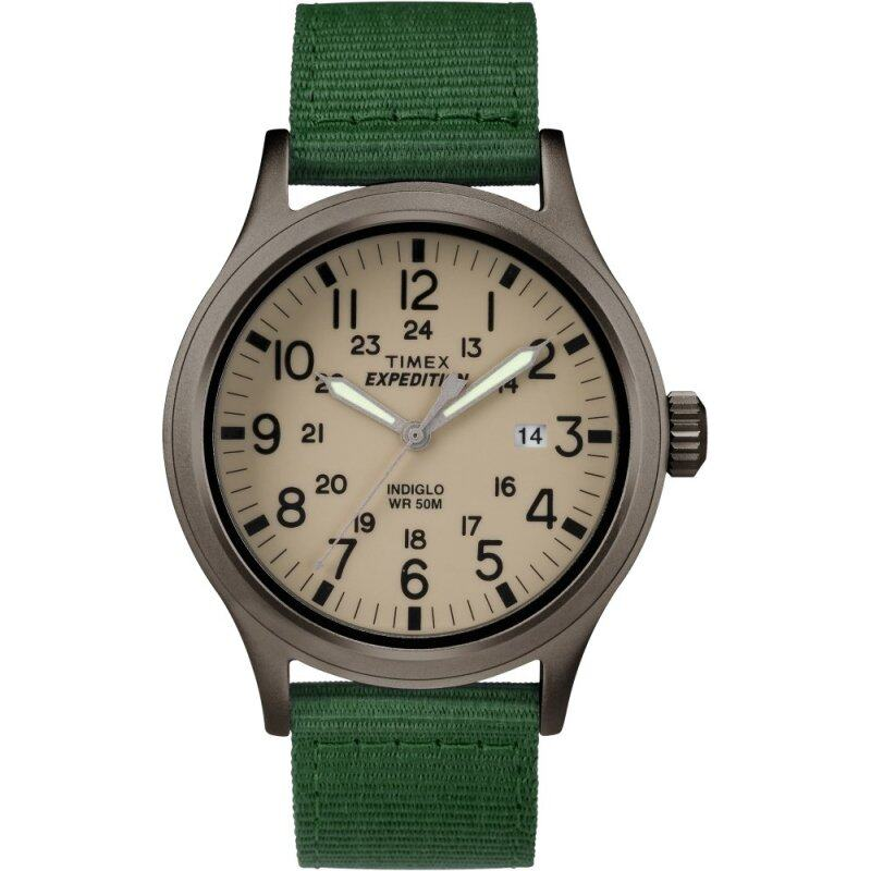 Timex Expedition® Scout - Green/Brown Nylon Strap Malaysia