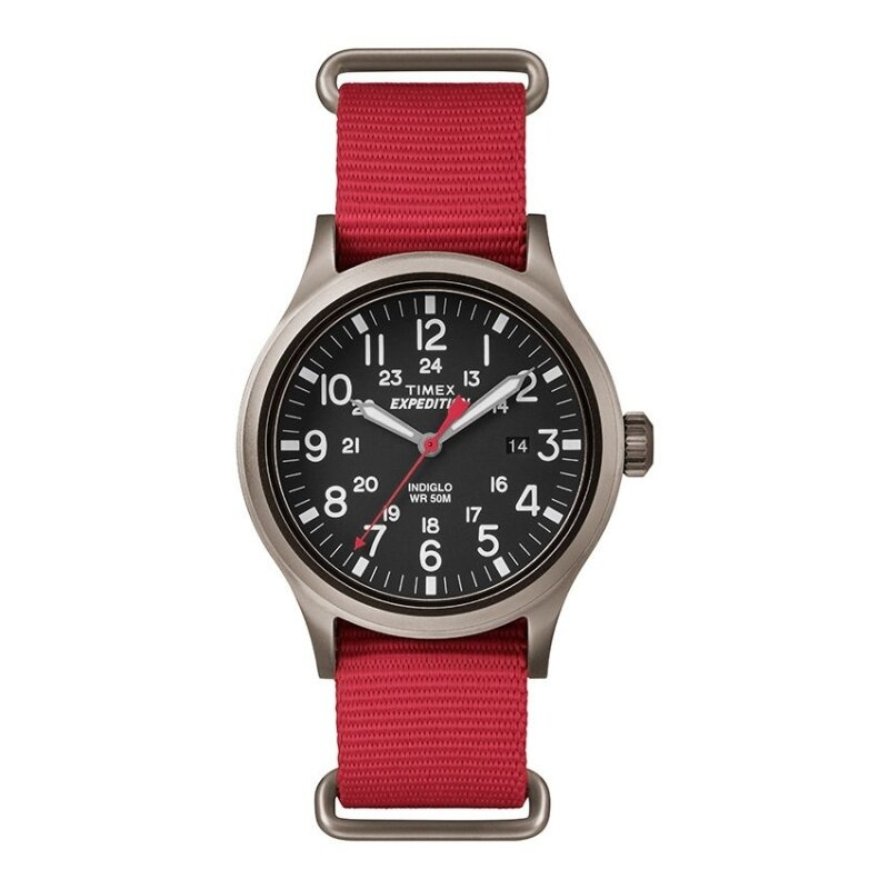 Timex Expedition® Scout with Gray Case and Nylon Strap TW4B04500 Malaysia