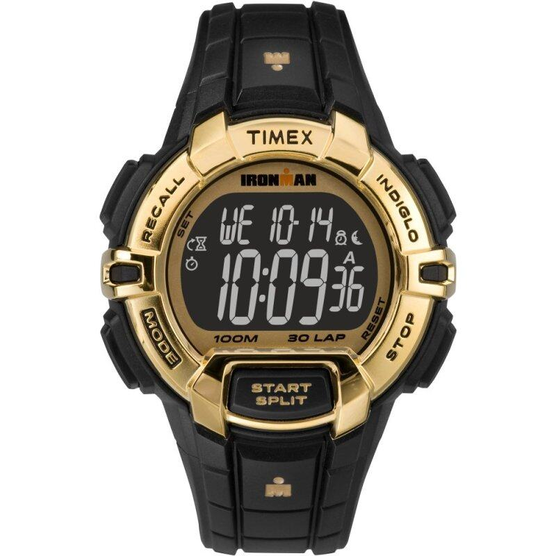 Timex IRONMAN® Rugged 30 Full-Size -  Hollywood Gold FS Black Malaysia