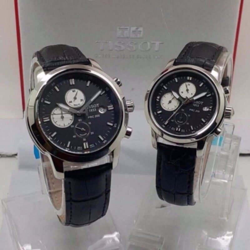 Tissot Business Men Women Couple Leather Watch Malaysia