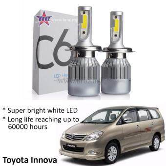 Harga Toyota Innova Old (Head Lamp) C6 LED Light Car Headlight Auto Headlight Lamp 6500k White Light