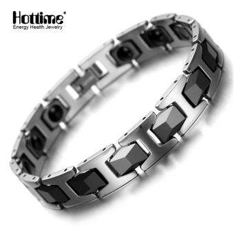 Tungsten Magnetic Bracelet Bio Health Migraine Pain Therapy