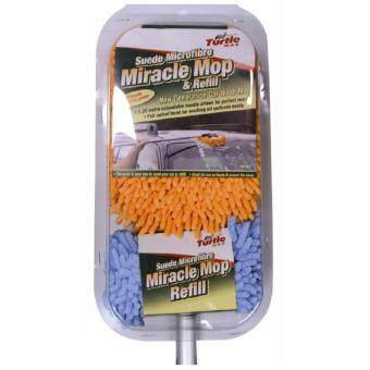 Turtle Wax Suede Microfibre Miracle Mop & Refill