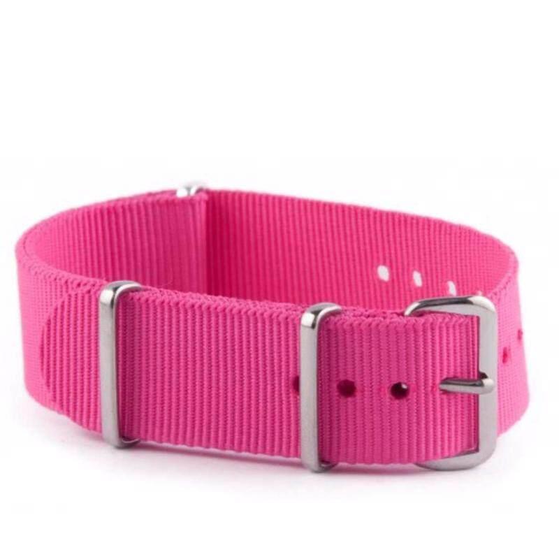 Twinklenorth 20mm Pink Rose Nato Strap Nylon Military Watch Band Strap Watchband NATO-029 Malaysia