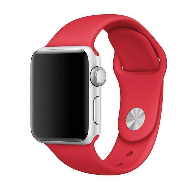 Watch Band, Soft Silicone Sport Style Replacement iWatch Strap for Apple Wrist Watch 42mm Model Malaysia