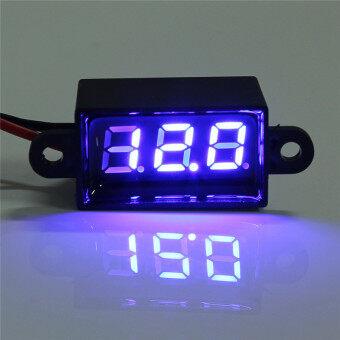 ... Waterproof 0.28'' DC 3.5-30V Mini Digital LED Voltmeter Volt Meter F 12V