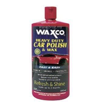 Waxco Heavy Duty Car Polish & Wax