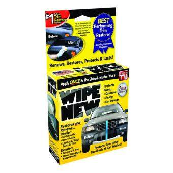 Wipe New Trim Restorer Restore, Renew and Protect Car Bumper,Trims and Headlights/Headlamps