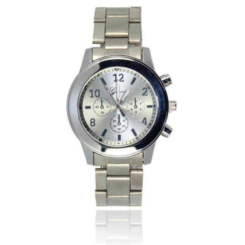 Woman Mens Retro Design Alloy Band Analog Alloy Quartz Wrist Watch Malaysia