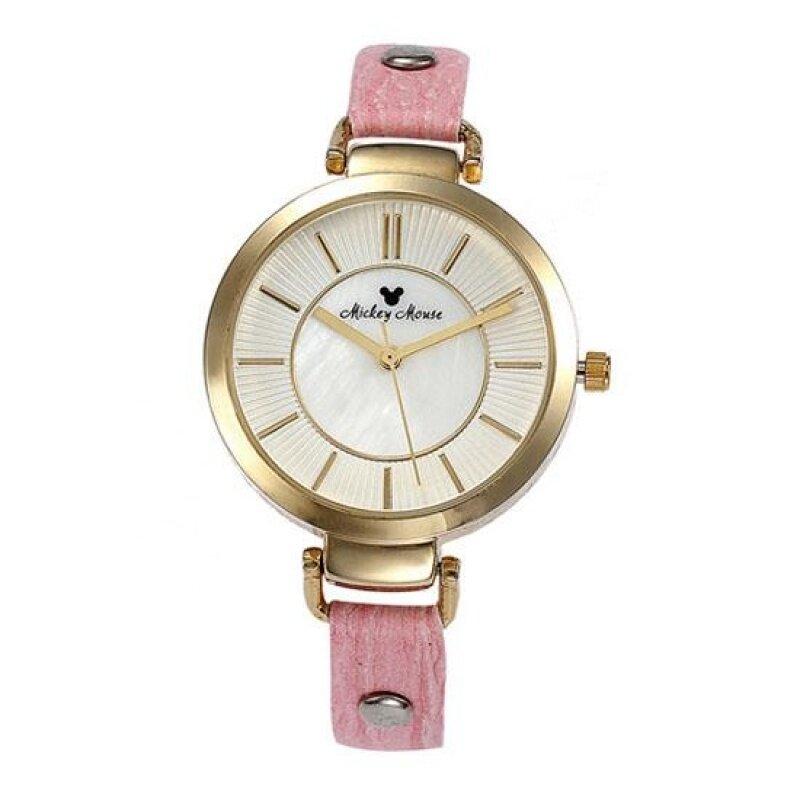 Womdee Hongkong KEZZI fashion leisure belt simple Ke purple quartz waterproof factory direct new watch (PinkGold) Malaysia