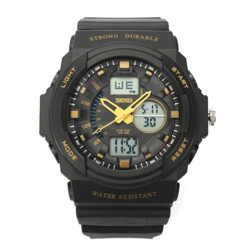 Womdee Mens Outdoor Military Sport Wrist Watches(Gold) Malaysia