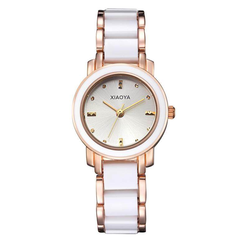 Womdee Miss Han Ban fashion simple ceramic watches High-quality factory direct cost (White) Malaysia