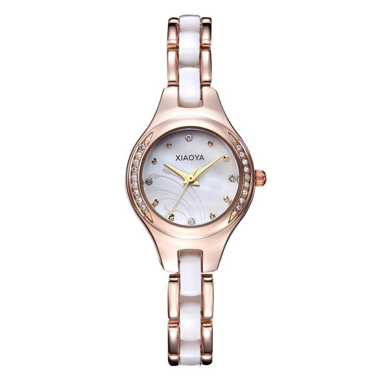 Womdee Miss Han Ban fashion simple ceramic watches High-quality factory direct cost (WhiteGold) Malaysia