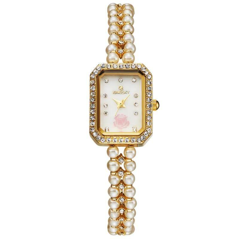 Womdee MS tradekey quartz watch aliexpress wish Dunhuang ec21 support on behalf of kingsky Watch (Gold) Malaysia