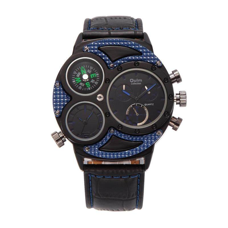 Womdee Watches wholesale Oulm trade male table factory direct when the two walked personality fashion watch HP3594 (blue) Malaysia
