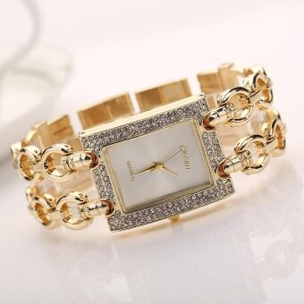 Women Fashion Hot Section of The New Hot Square Fine Metal Bracelet Ladies Watch