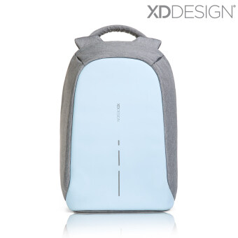 Harga XD Design Bobby Compact Anti-Theft Backpack (Pastel Blue) -FreeMini Bobby & Rain Cover