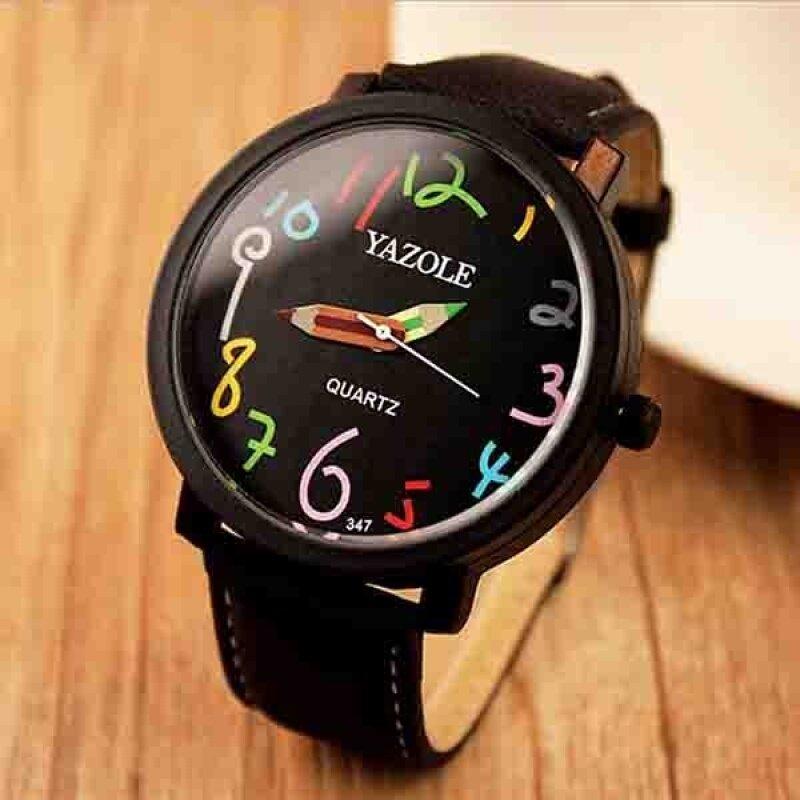 YAZOLE Wrist Watch Jam Tangan  Women Watch Jam Tangan es 2016 Famous Brand Female Clock Quartz Watch Jam Tangan  Ladies Quartz-Watch Jam Tangan  Montre Femme Feminino 61 Malaysia