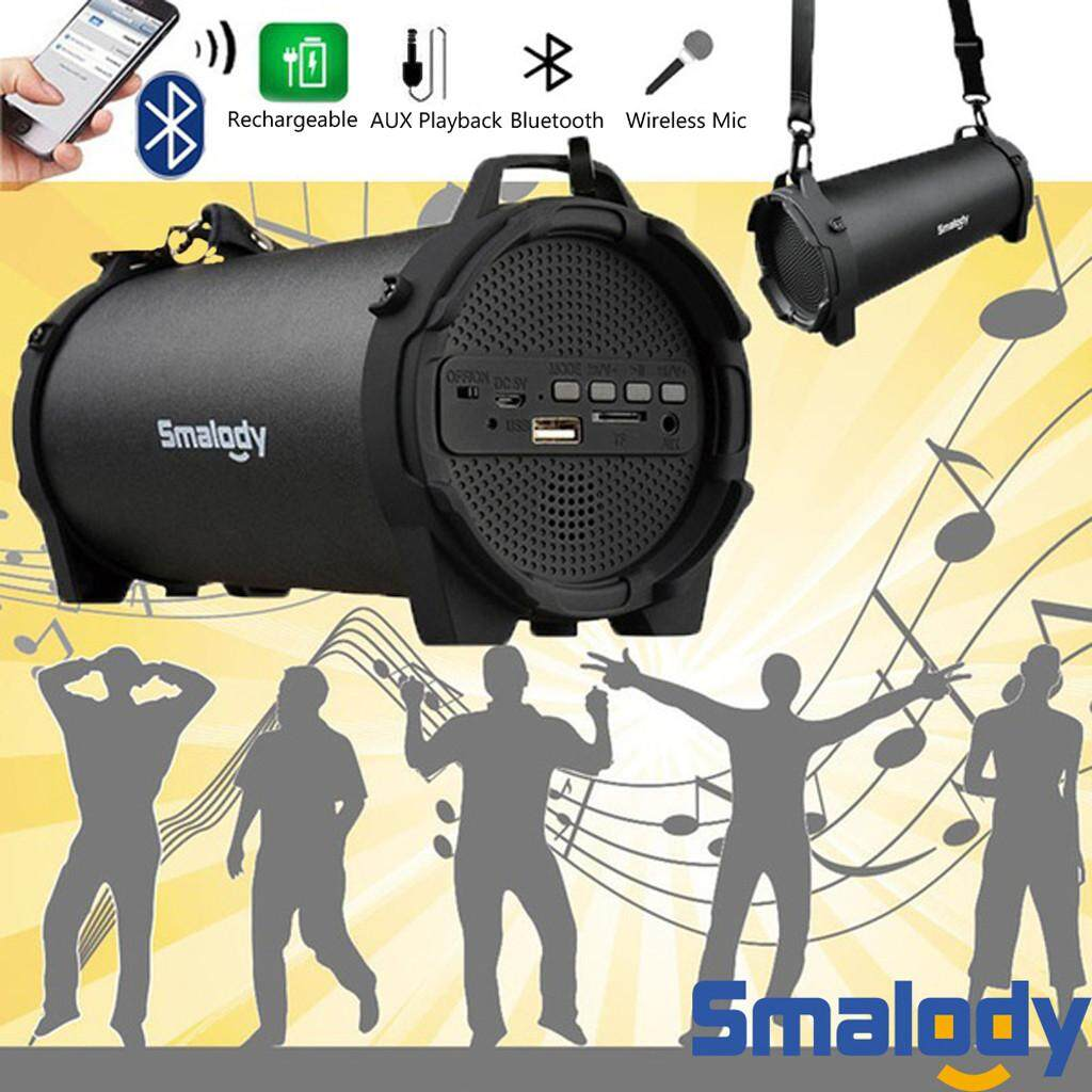 Bluetooth Portable Speaker Wireless Bass Stereo Pc Tablet Rechargeable FM radio