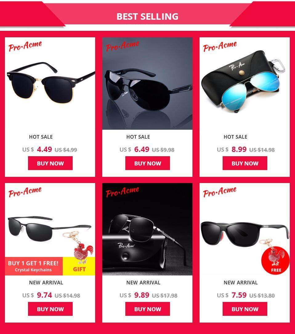 3249347e312d5 Product details of Pro Acme Brand Small Polarized Sunglasses for Kids and  Youth Adult Small Face Women Men Juniors Pilot Sun Glasse 52mm PA1053