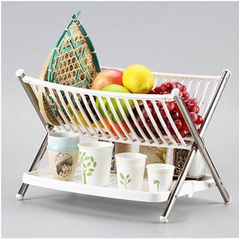 U Pay Low 2 Tier Multi Functional Folding Kitchen Dish Rack: Buy Sell  Online @ Best Prices in SriLanka | Daraz.lk
