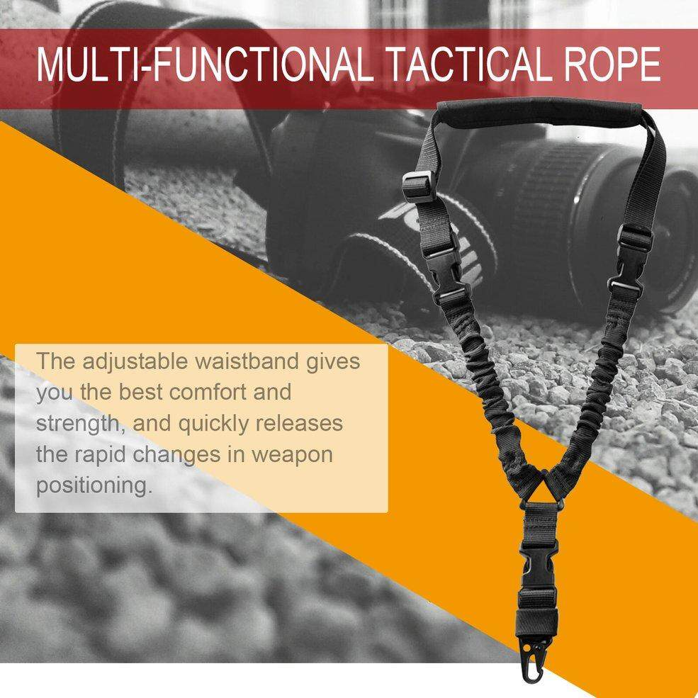 Multifunctional Tactical Rope Single Point Rope Task Sling Lifesaving Rope ND