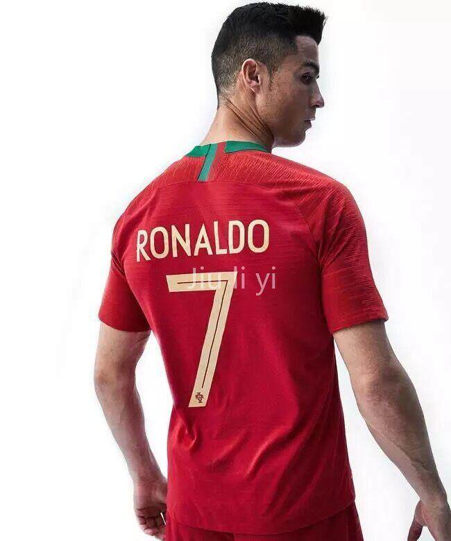 low priced 80bff 1fa68 JLY Top Quality Portugal National Team World Cup Home And Away NO.7 RONALDO  Football Jersey