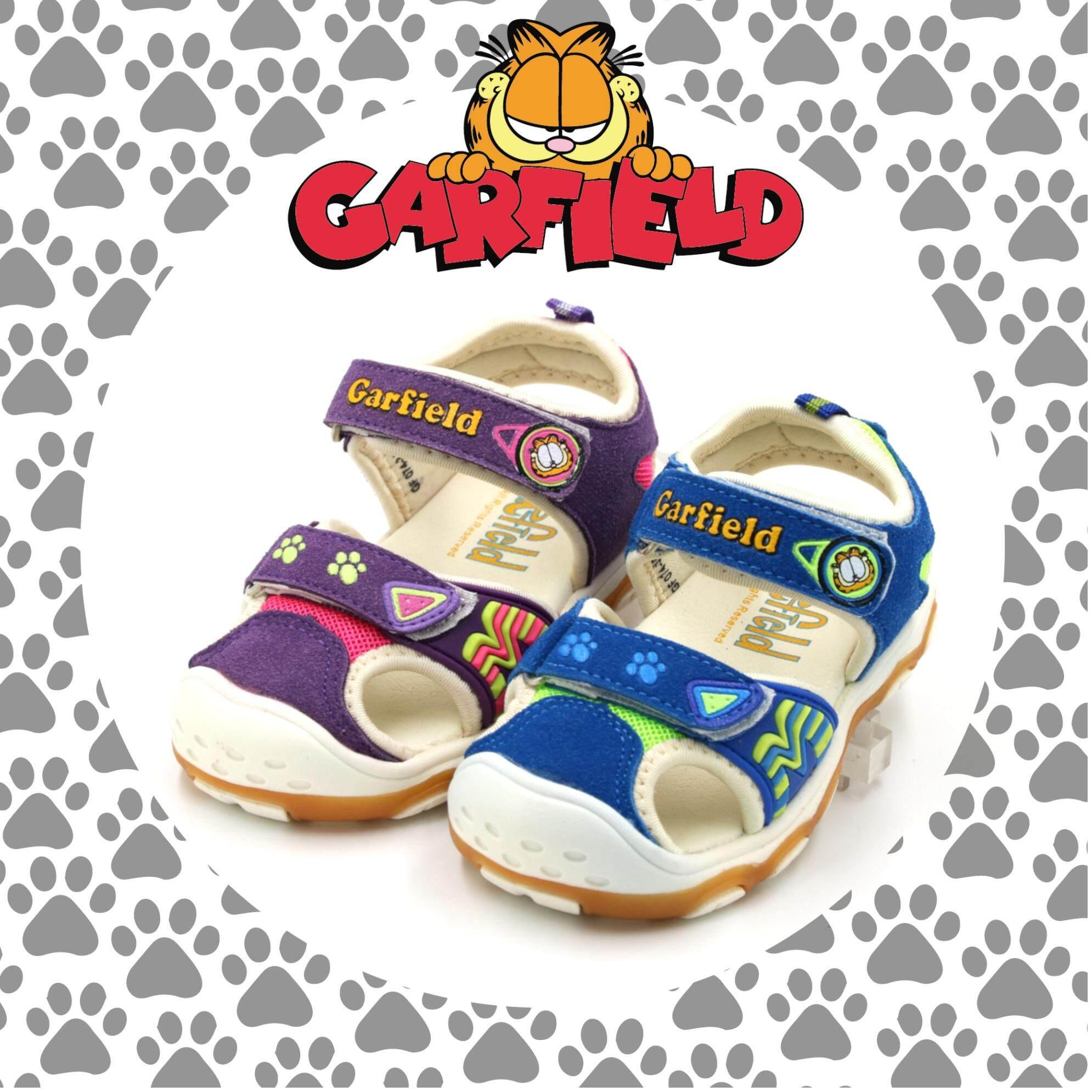 Garfield Baby Boy Outdoor Running Sport Sandal Sandal Sukan Jalan Lari Bayi Lelaki 13 5 16 5cm 2 Colors Paws Pu Lazada