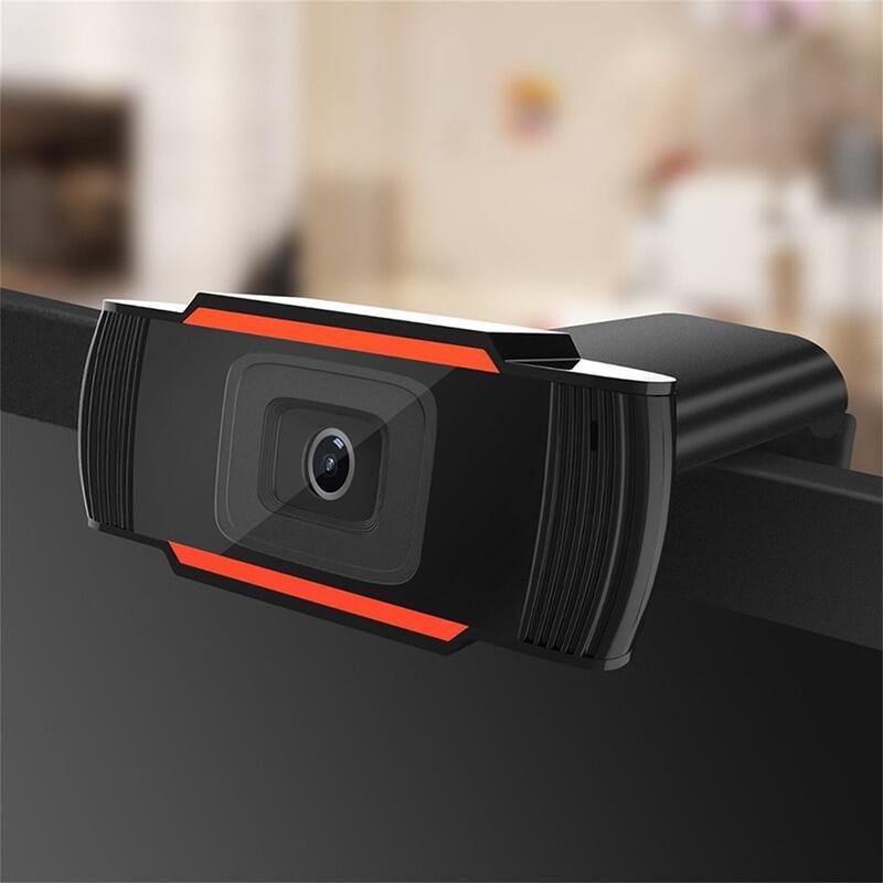 KEBETEME Webcam Độ Nét Cao 480P 720P Máy Quay USB Có Thể Xoay Ghi Video Camera Web Với Micrô Cho Máy Tính Để Bàn 2