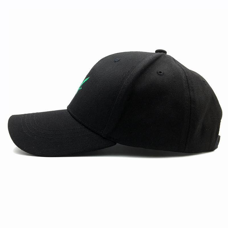 10cd61f3ea7b7 Product details of New Fashion Embroidery Maple Leaf White Cap Weed  Snapback Hats For Men Women Cotton Swag Hip Hop Fitted Baseball Caps