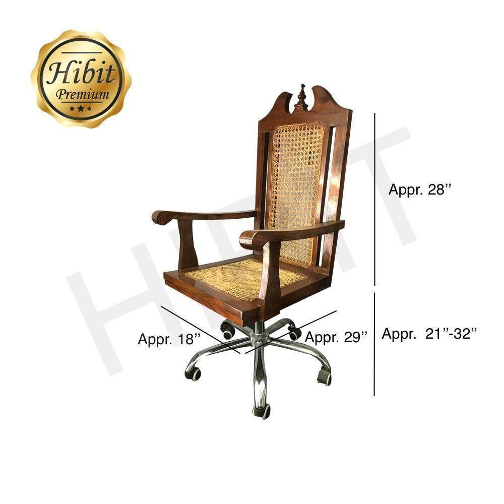 Awe Inspiring Swivel Wooden Office Chair Theyellowbook Wood Chair Design Ideas Theyellowbookinfo
