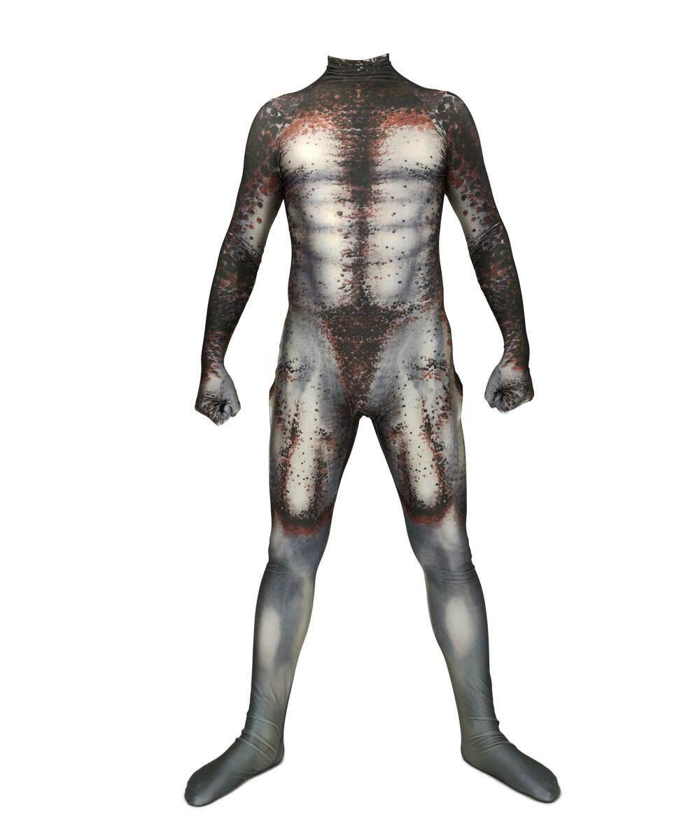 2019 New Cosplay Kids Adult Men Predator Man Halloween Jumpsuits Zentai Plugsuit