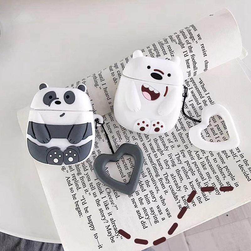 Eounthbard Cute Favorite Cartoon Silicone Case Cover For Apple Airpods  Accessories