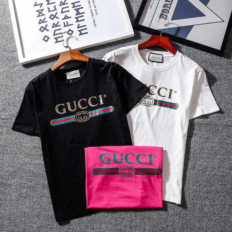 0385a8898 Specifications of 2019 Gucc Fashion Casual Style Hot Summer Short Sleeve Women's  T-Shirt Cotton Men's T-Shirt Women's T-Shirt